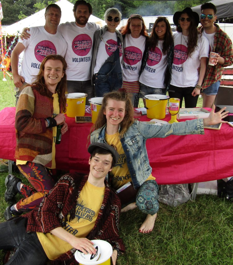 Carnival volunteers at Common People
