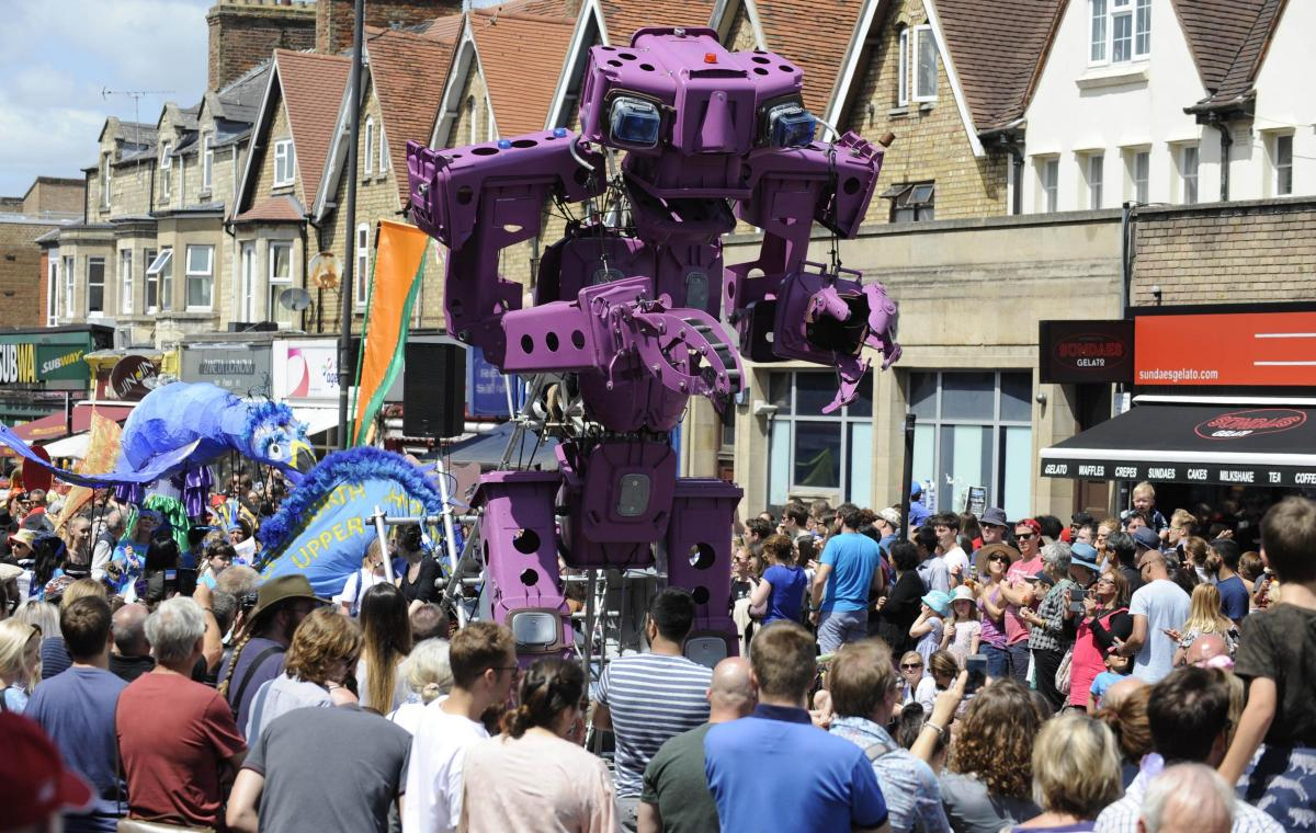 Colossal Carnival photograph by Dave Fleming Oxford Mail
