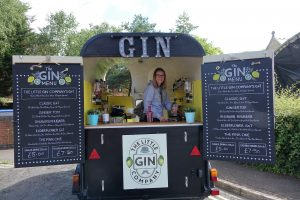 Gin stall photograph by Kirsten Rowe, Kirstzoli photography