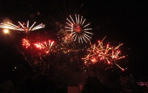 Fireworks photograph by Sarah Airey