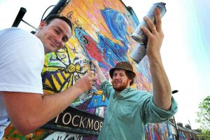 Tom Hayes Andrew Manson Stockmore Street mural 3_Oxford Mail