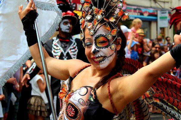 Carnival dancer by Koroush Khorshidfar