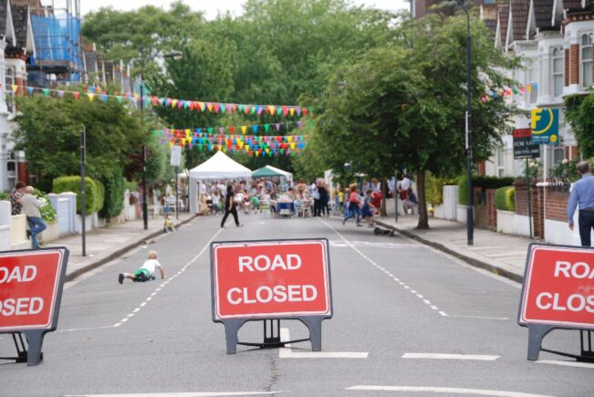 The Big Lunch Street Party Road Closure