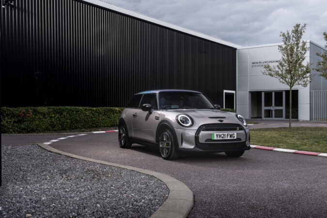 The new MINI Electric Collection limited edition model at MINI Plant Oxford