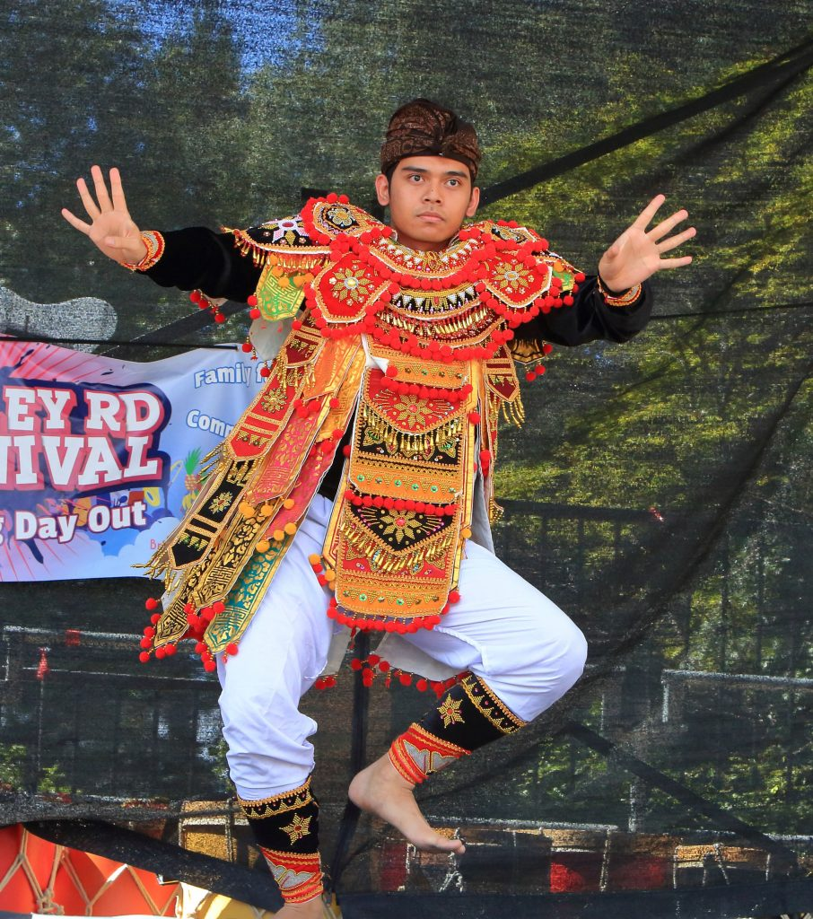 Indonesian dancer photograph by Stu Allsopp