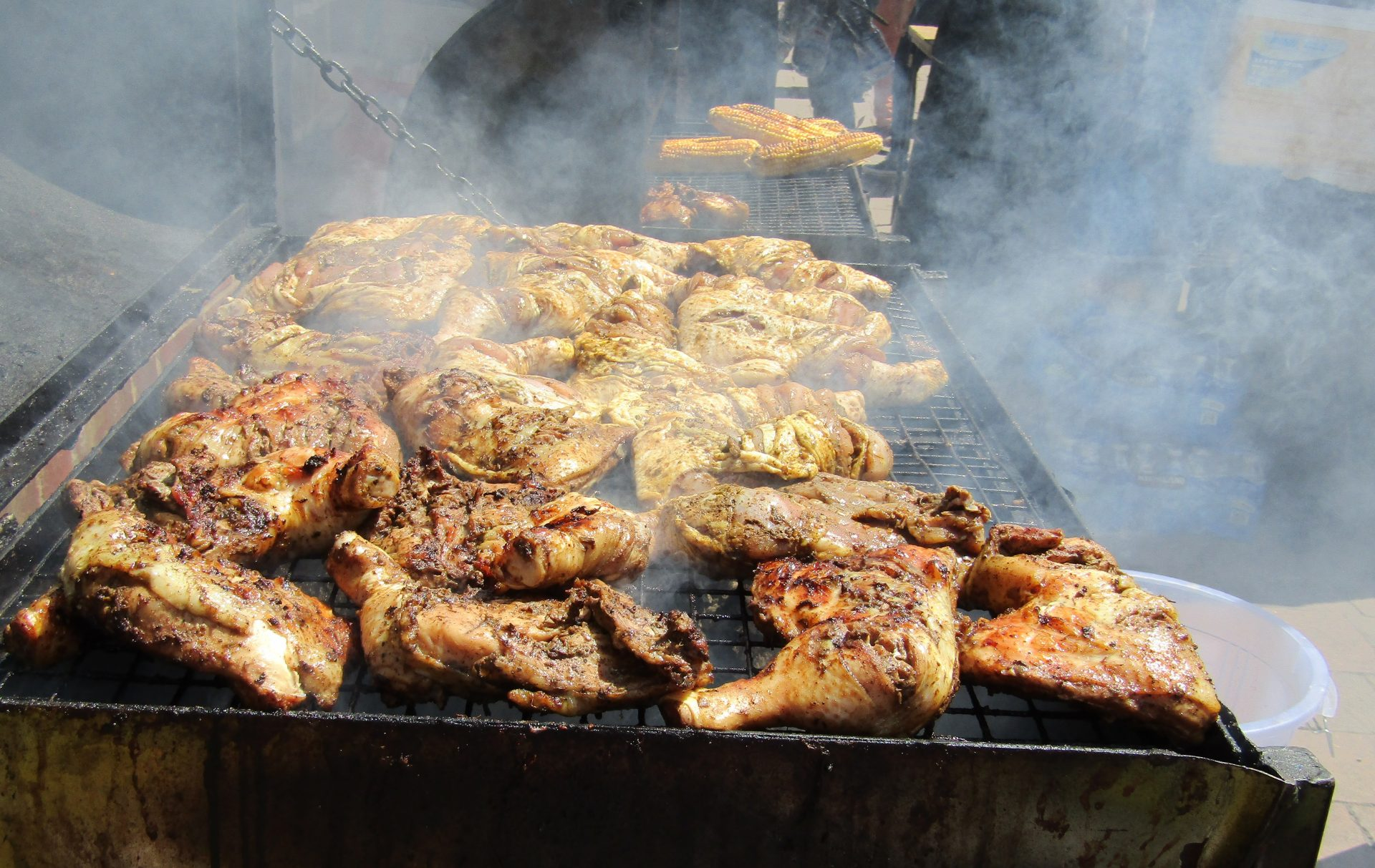 jerk chicken photograph by Sarah Airey