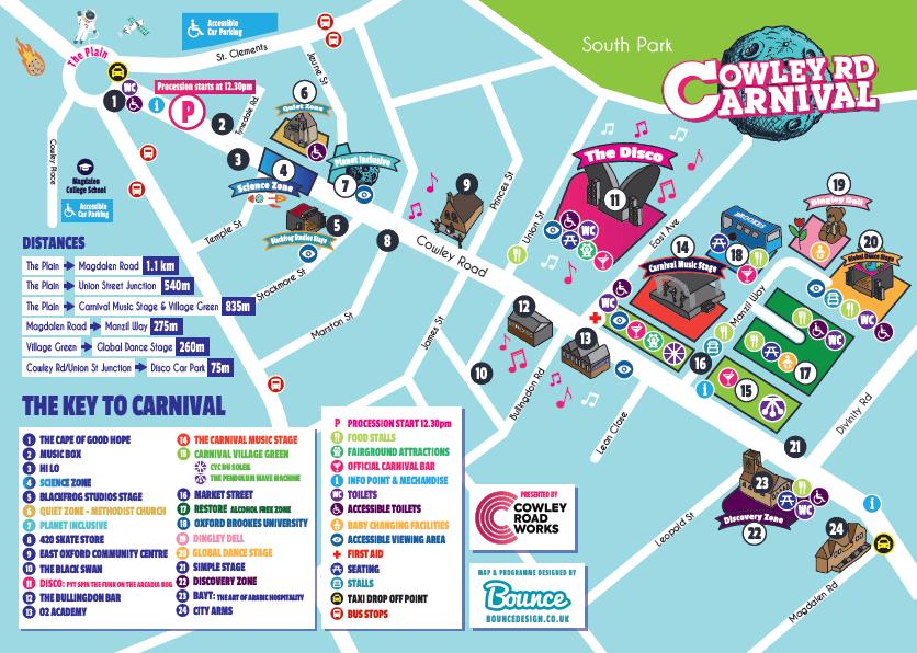 Carnival map