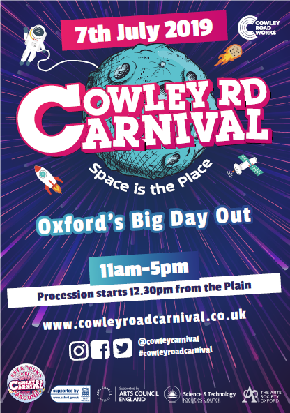 Cowley Road Carnival programme 2019