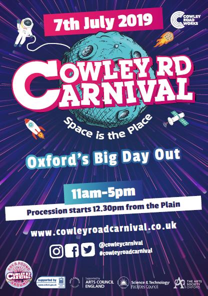 Francois Illas New Tradition: Cowley Road Carnival
